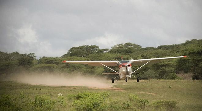 Landingsbaan voor MAF