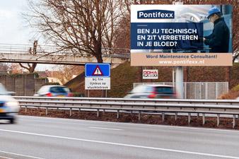 pontifexx vacature langs de snelweg